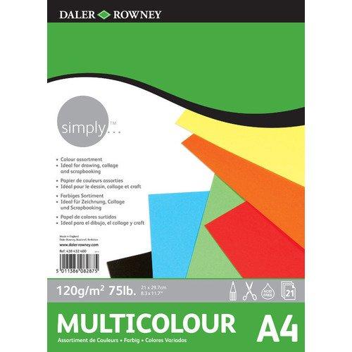 Альбом цветной бумаги