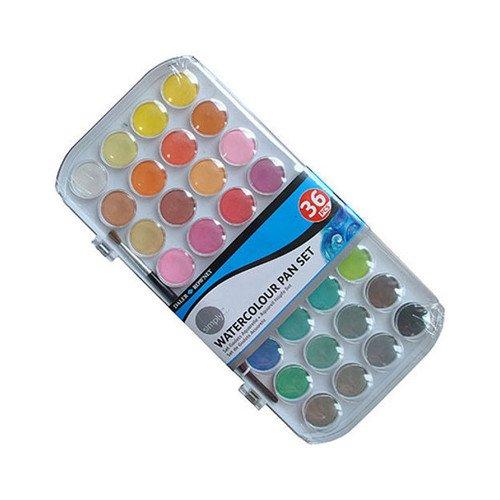 Набор акварельных красок Simply, 36 цветов набор чашек simply jeez