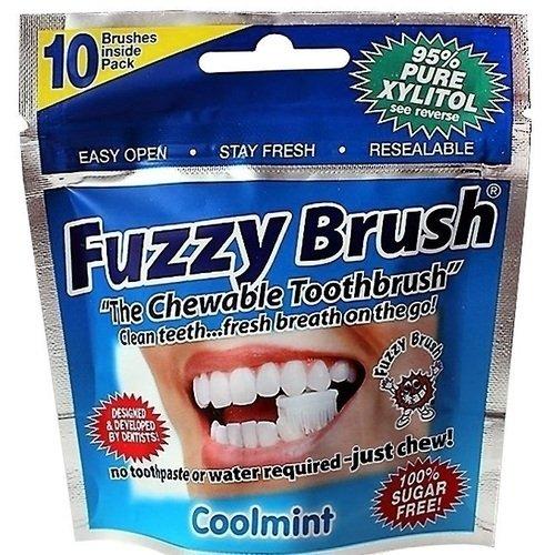 Щетка зубная для взрослых одноразовая FUZZY BRUSH