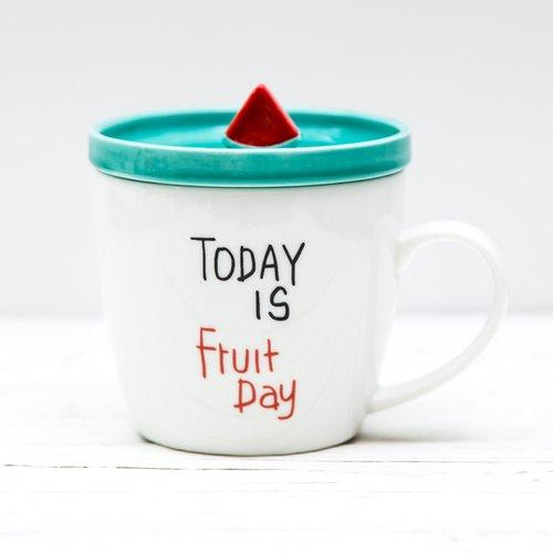 """Кружка керамическая """"Fruit day"""", 400 мл"""