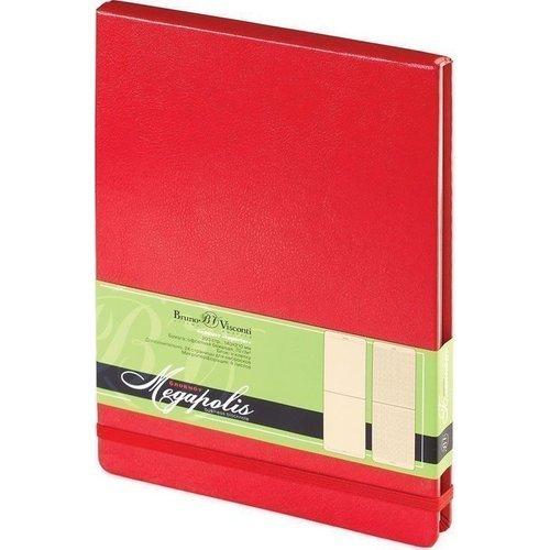 Блокнот MEGAPOLIS REPORTER А5 красный цена