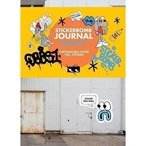 Graffiti. Stickerbomb Journal use of e journals