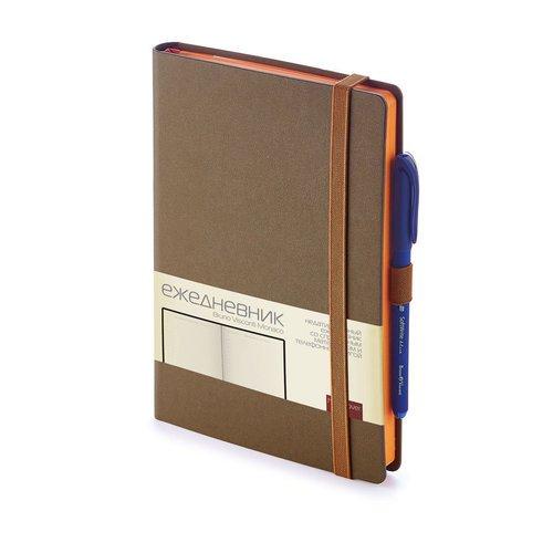 """Ежедневник на резинке """"Monaco"""" 3-518/03 А5, 3-518/03, 272 стр."""