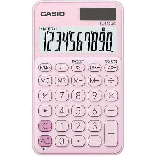 Калькулятор карманный Casio розовый калькулятор casio mx 12s
