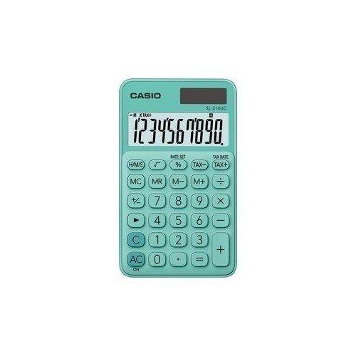 Калькулятор карманный Casio зеленый калькулятор casio mx 12s
