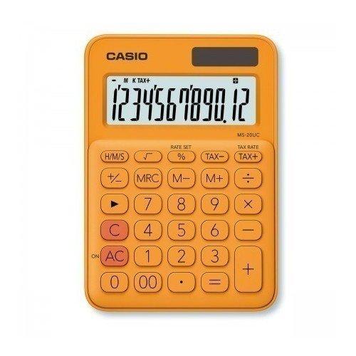 Фото - Калькулятор настольный Casio оранжевый калькулятор карманный casio оранжевый