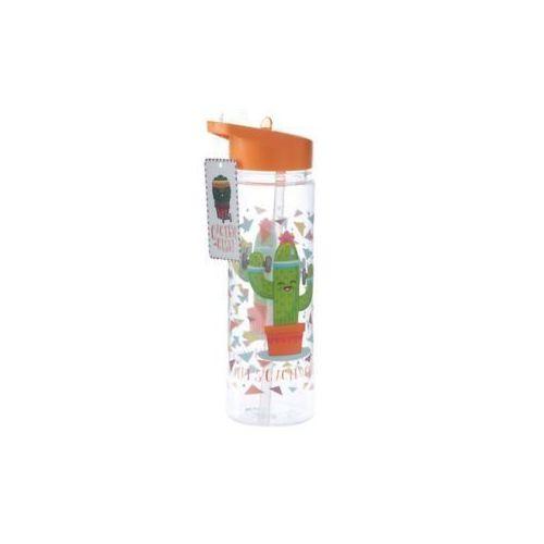 Бутылка пластиковая Cactus Design, 500 мл фляжка бутылка с карабином 350 мл