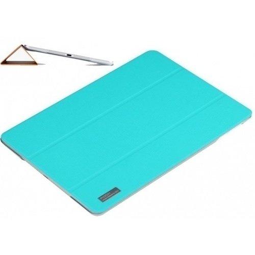 Чехол для iPad Air Elegant Side Flip Azure protective flip open pu leather pc case w stand hand strap for ipad air deep pink