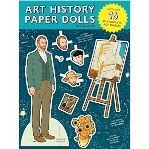 Набор для творчества Art History Paper Dolls the paper dolls