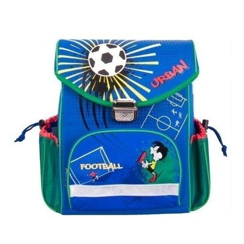 """Школьный рюкзак """"Футбол"""", синий"""