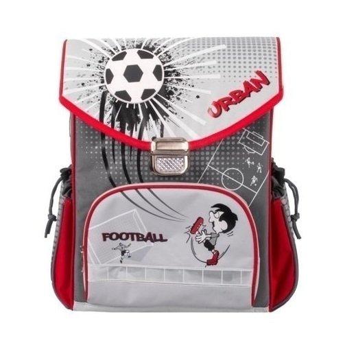 """Школьный рюкзак """"Футбол"""", серый"""