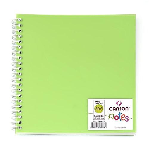 Блокнот для зарисовок Notes, 50 л, 120 г/м2, 18,5 х см, в ассортименте