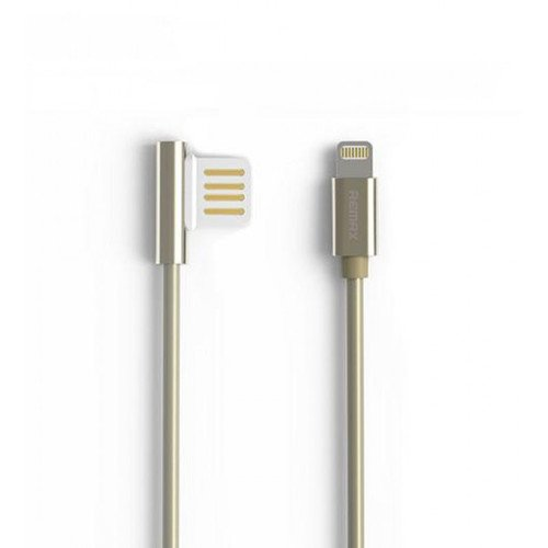 Фото - Кабель USB Remax Emperor Lightning RC-054i, 1 м, золотистый кабель remax 2000000135878 синий