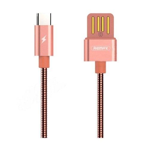 Кабель USB Silver Serpent Type C RC-080a, розовое золото
