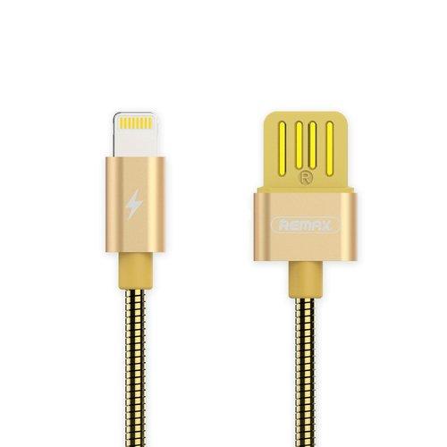 Фото - Кабель USB Silver Serpent RC-080i Lightning, золотистый кабель