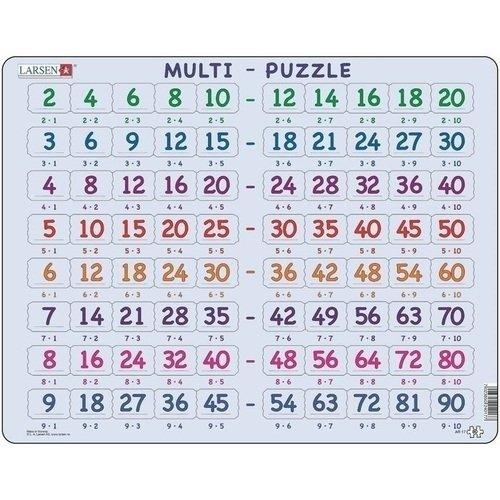 Купить Пазл Мульти-Пазл , 80 элементов, Larsen, Пазлы