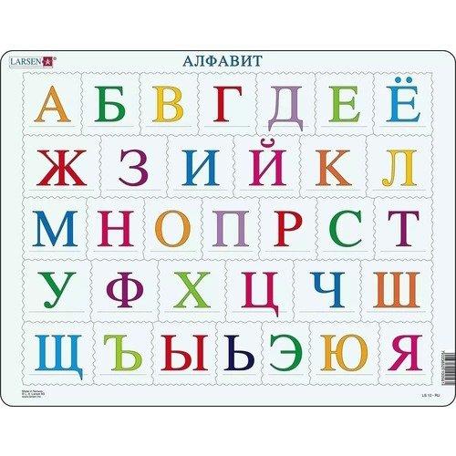 Купить Пазл Алфавит , 33 элемента, Larsen, Пазлы