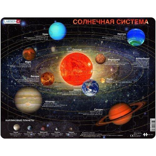 """цены Пазл """"""""Солнечная система"""", 70 элементов"""