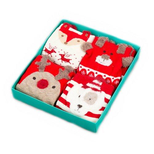 Набор носков Red noses, 36-39, 4 пары набор носков girlfriend 36 39 2 пары