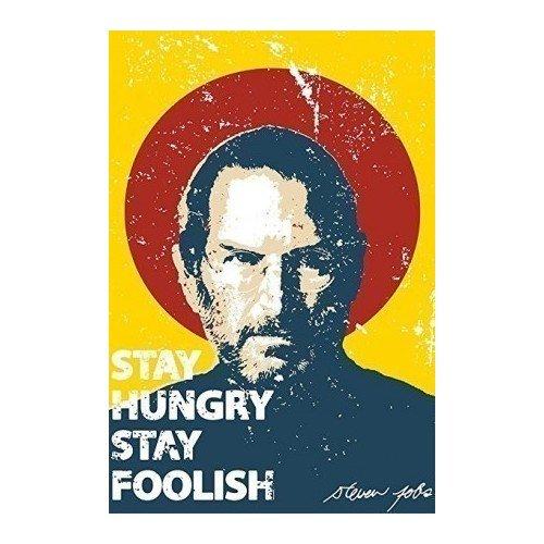 Принт Стив Джобс А3 постер картина принт нимфа