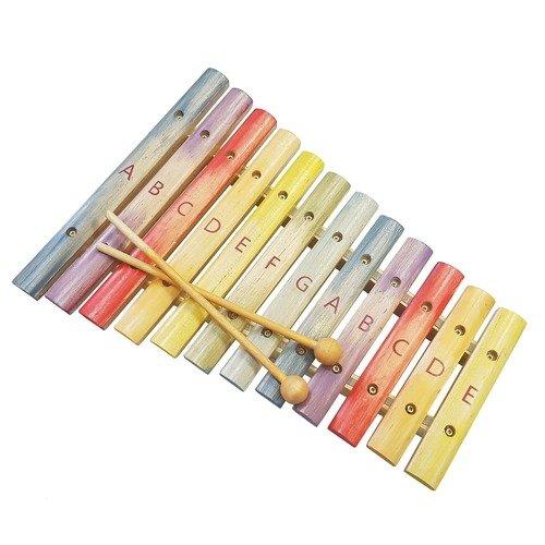 Ксилофон цветной Семицветик музыкальный инструмент детский smoby smoby музыкальный инструмент ксилофон