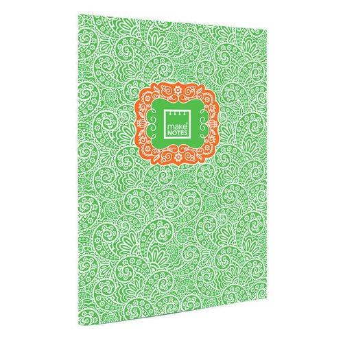 """Тетрадь """"Пейсли"""" А4, 40 страниц, зеленая"""