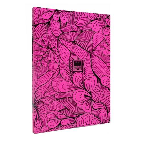 """Блокнот """"Неон"""" А5, 40 листов, в линейку, розовый"""