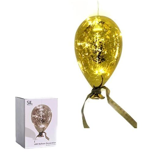 Надувной шарик с лампочкой LED 19 х 12 см