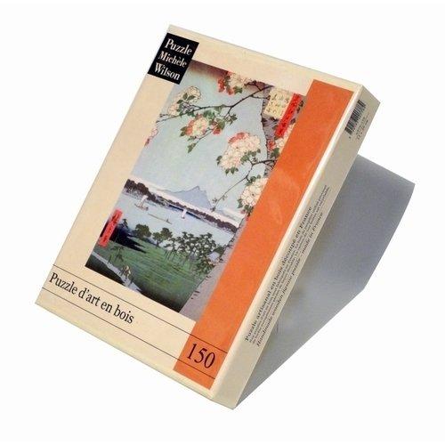 """Пазл """"Pommiers En Fleurs. Hiroshige"""", 150 элементов цена"""