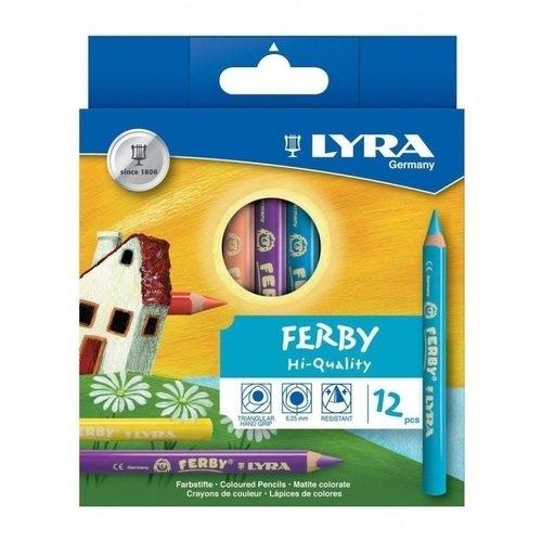 Карандаши цветные Super Ferby, 6 шт. подарок художнику
