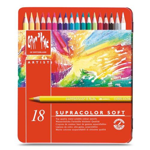 Карандаши цветные Supracolor, 18 цветов mattel карандаши цветные enchantimals 18 цветов