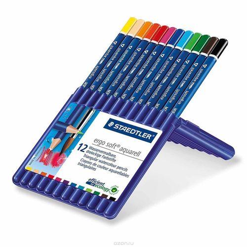 Карандаши цветные Staedtler staedtler карандаши цветные акварельные karat aquarell 48 цветов staedtler