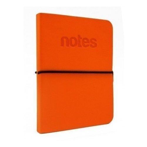 Блокнот А6, 48 листов, оранжевый