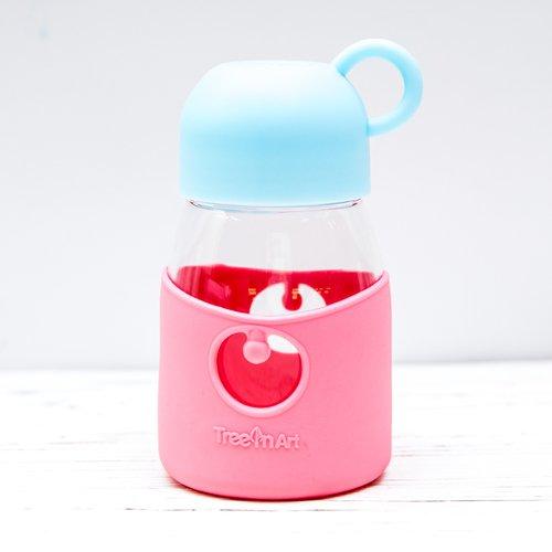 Бутылочка Geometry, 350 мл, розовая бутылочка с системой подачи лекарства грудничку adiri md 118 мл