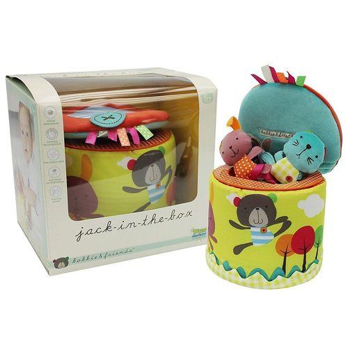 Купить Плюшевая развивающая игрушка Трое в коробке , 1 TOY, Развлекательные и развивающие игрушки
