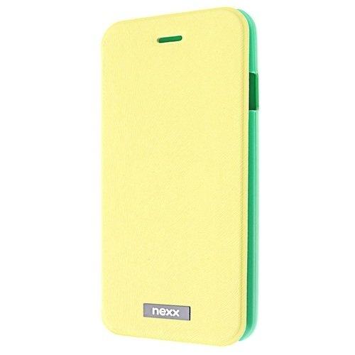 Чехол для iPhone 6 plus Marylebone MB-MR-105-YL, PU+PC, желтый браун роуз дизайн кожа pu откидная крышка бумажника карты держатель чехол для huawei y5ii