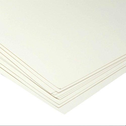 "Кардсток базовый ""Белый"", 10 листов, 240 г/м, 30 х 30 см"