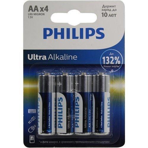Батарейки LR6E4B/51 Ultra батарейки philips lr6e4b 51 aa 4шт