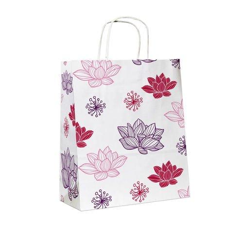 """цены Подарочный пакет """"Цветы. Лотос"""", 25 х 11 х 32 см"""