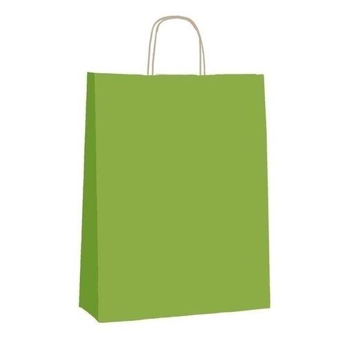 Подарочный пакет А3 Фисташковая,25 х 11 х 32 см пакет подарочный bello 23 х 10 х 26 см bas 70
