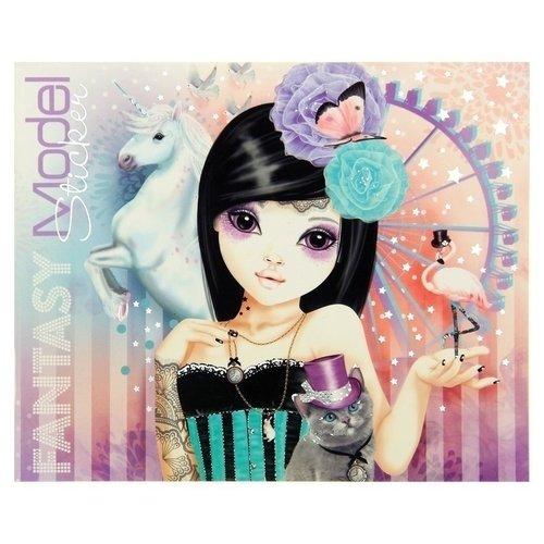 Буклет стикеров Fantasy Model набор наклеек depesche topmodel fantasy 046462 006462