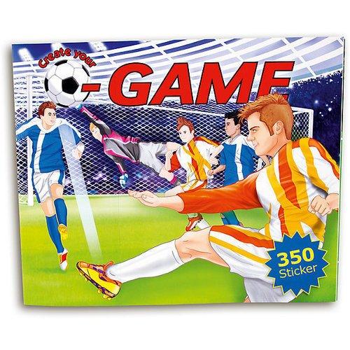 Альбом с наклейками Создай свой футбольный матч альбом с наклейками 1 попугай