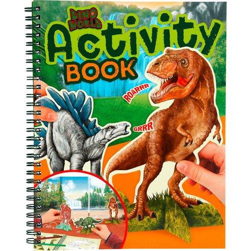 """Альбом для игр """"Динозавры"""""""