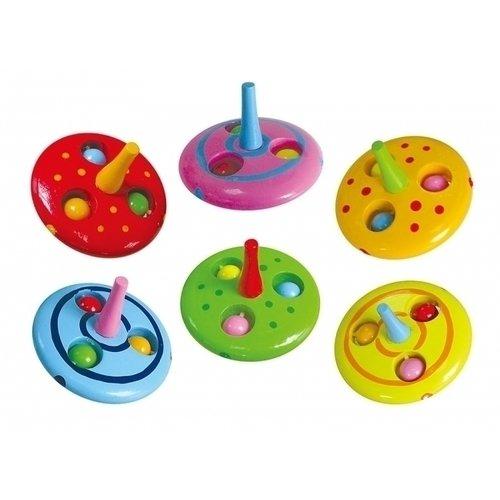 Купить Волчок, в ассортименте, Viga Toys, Игрушки для малышей