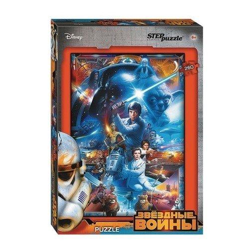 Купить Пазл Звездные войны , 260 элементов, Step Puzzle, Пазлы