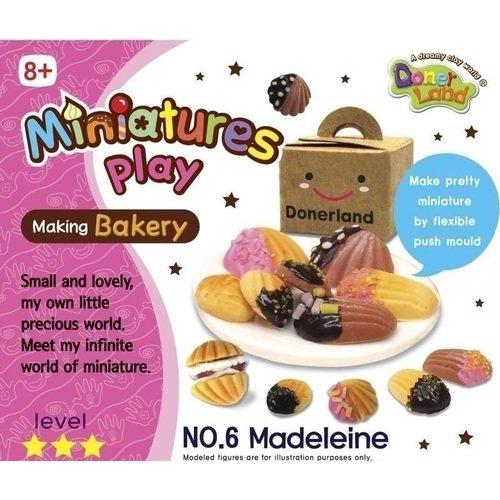 Набор для лепки Миндальные печенья всё для лепки miniatures play набор для лепки кремовый торт