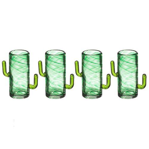 "Набор стаканов ""Cactus Shot Glasses"", 4 шт."