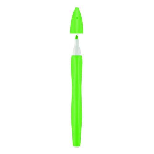 Фото - Стираемый фломастер Over x Art, светло-зеленый таппер pilot стираемый фломастер маркер косой головка 6 цвет kit sw fl s6