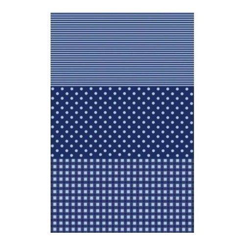 Бумага для декопатча, 30 х 39 см, синяя