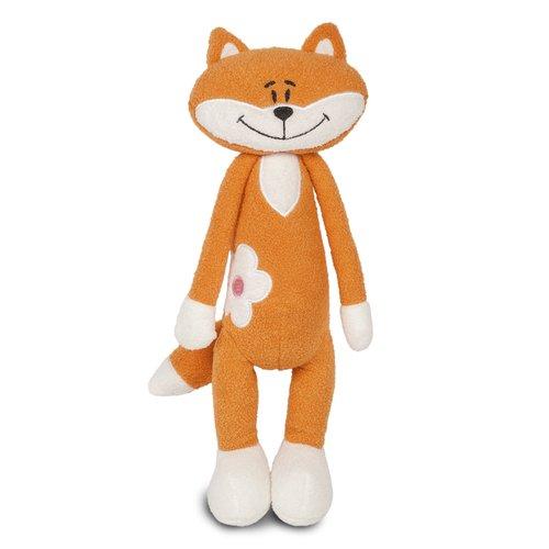 Мягкая игрушка Лисичка с цветочком, 33 см игрушка